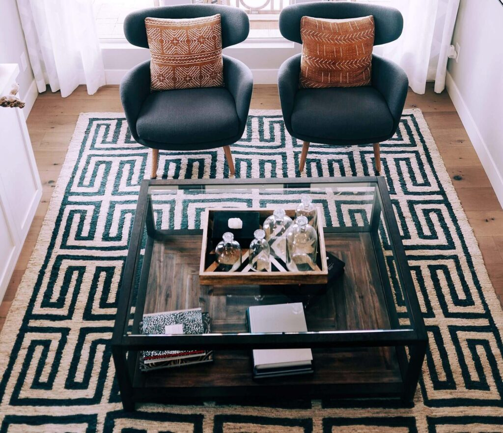 How to keep a rug in place on carpet or floor