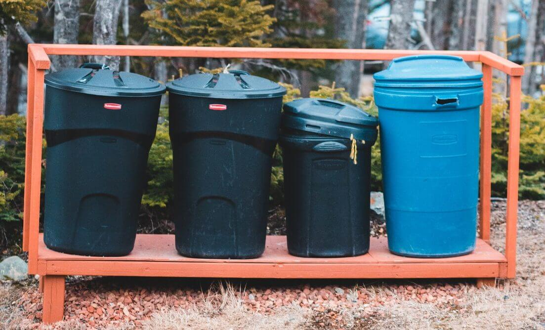 Best Dog Poop Trash Can for outdoors
