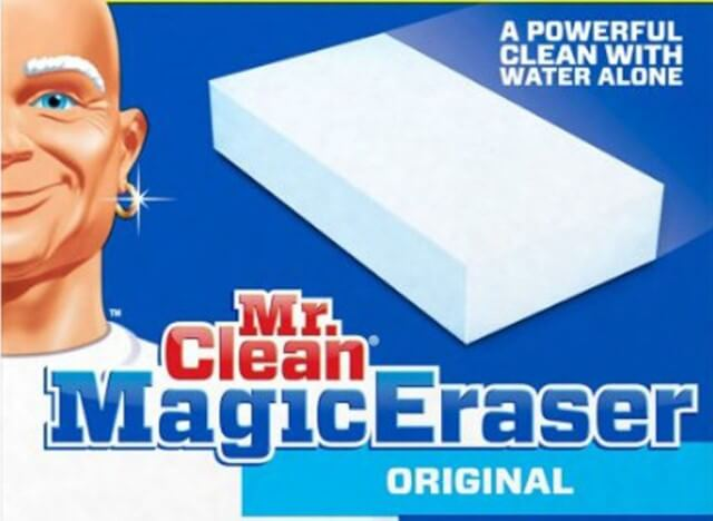 What is a magic eraser and what is it made of?